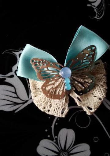蝴蝶结夹子