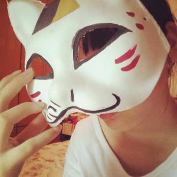 手绘面具 - hy夏日动漫祭