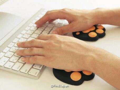 肉球 鼠标垫 键盘垫 喵星人 汪星人