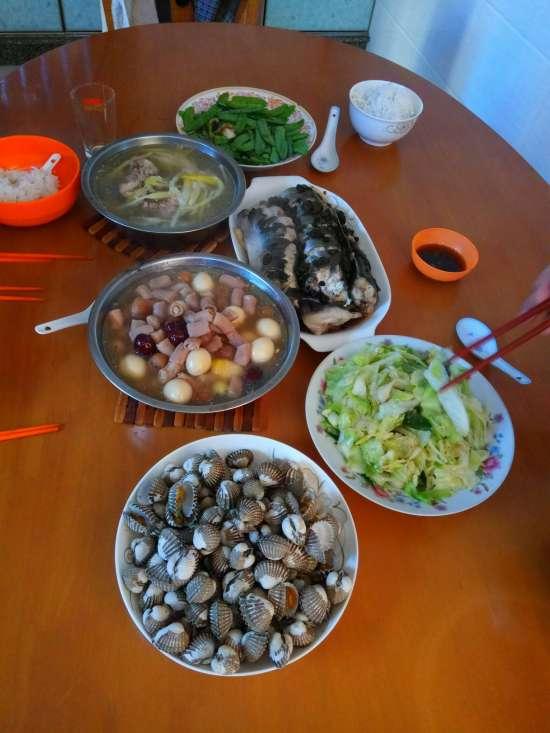漳州市,新年大餐,