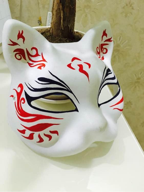 【手绘】各式各样的手绘面具