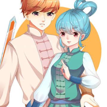 虹猫蓝兔拟人