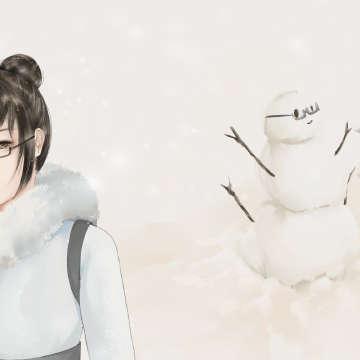 苟……不对 来堆个雪人