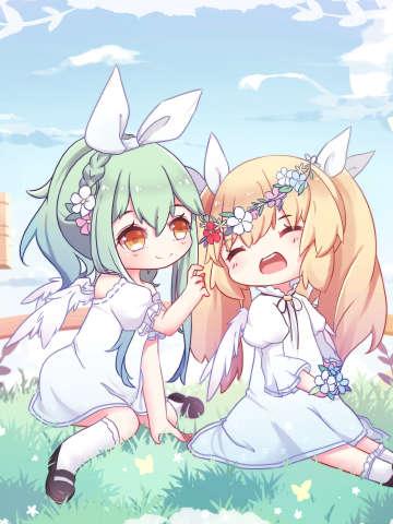 两只小天使