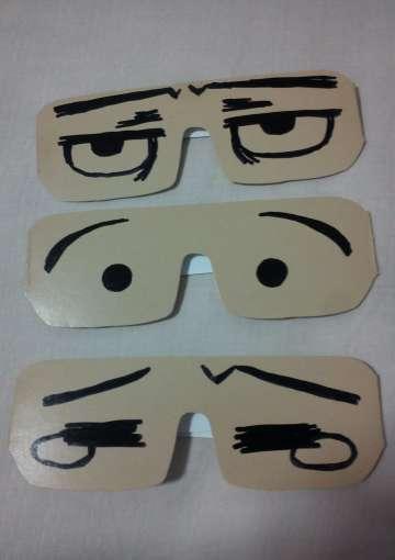 手绘定制眼镜