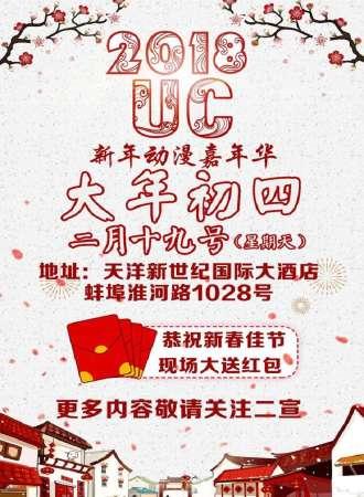 蚌埠UC09动漫新年嘉年华