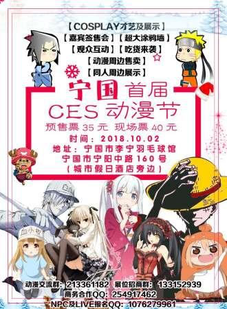 宁国首届CES动漫节