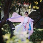汉服,中国风,四季,繁花似锦,天凉