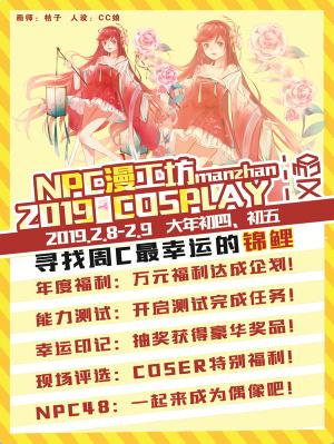 NPC漫工坊2019cosplay