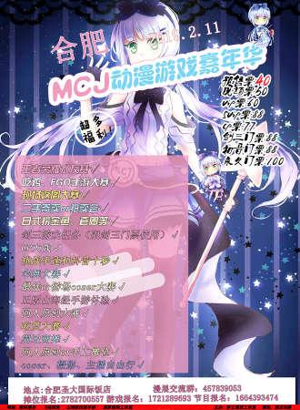 MCJ  动漫游戏嘉年华 - 合肥