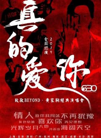 真的爱你-2019致敬BEYOND·黄家驹演唱会 瞬间穿越那些光辉岁月-北京站