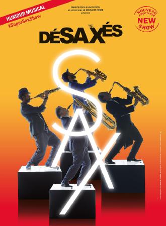 华艺星空法国巴黎四怪客喜剧互动音乐会《疯狂萨克斯2》