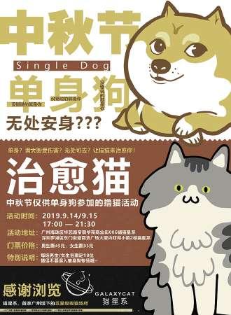 深圳·猫星系·中秋节脱单派对 桌游无限畅玩