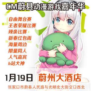 CM蔚县动漫游戏嘉年华插图