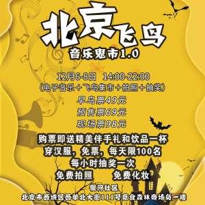 北京飞鸟音乐鬼市1.0插图