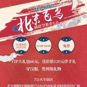 北京飞鸟感恩节集市1.0插图