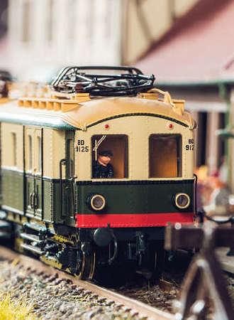 大梦微城火车模型主题乐园
