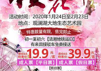 【展宣】2020深圳观澜湖第四届樱花节