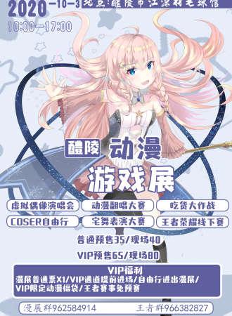 醴陵新星动漫游戏展