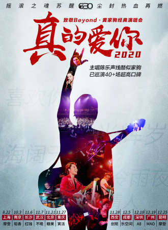 2020真的爱你-致敬BEYOND·黄家驹演唱会-南京站