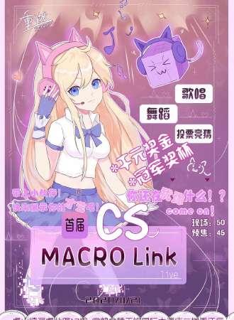 首届CS MACRO Link