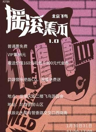 北京飞鸟摇滚集市1.0