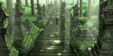 萤火之森 上色见熊野神社 (公共交通无障碍 攻略 游记, 图文)