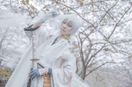 cos,游戏,刀剑乱舞,鹤丸国永,cosplay