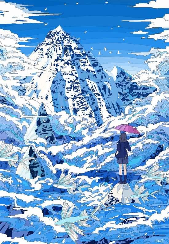 日本画师,绘画,壁纸
