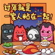 动漫,zombiescat,魔鬼猫,表情