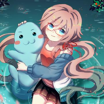 阿西:哈?你也想摸这只江豚?那来宜昌NGCP吧!